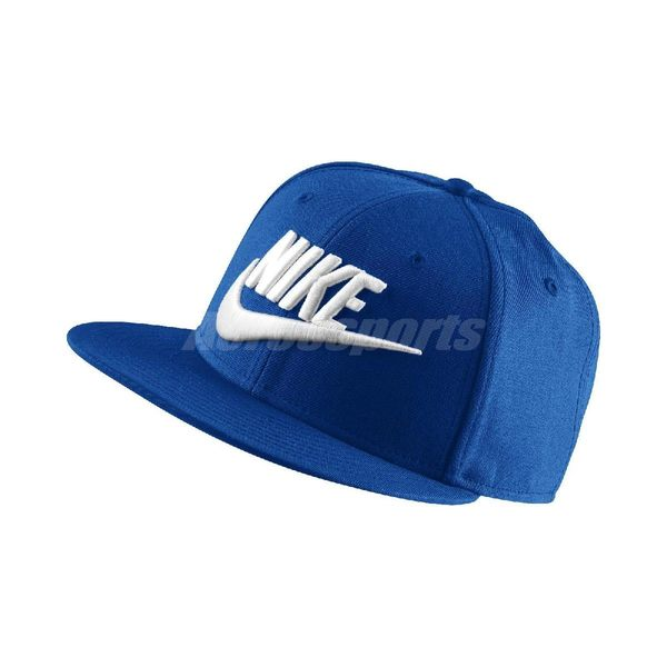 Nike 帽子 FUTURA TRUE 2 SNAPBACK 藍 白 棒球帽 男女款 【PUMP306】 584169-433