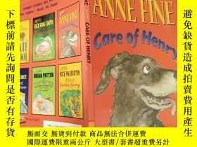 二手書博民逛書店anne罕見fine care of henry 安妮好好照顧 亨利Y200392