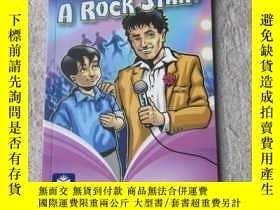 二手書博民逛書店My罕見Dad a Rock Star?(Pearson Cha