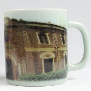 青瓷風景圖個性茶杯
