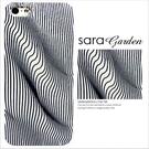 客製 3D感 迷幻 波動 線條 曲線 視覺感 iPhone 6 6S Plus 手機殼 磨砂殼 Sara Garden【C0712005】