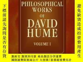 二手書博民逛書店The罕見Philosophical Works Of David HumeY256260 David Hum