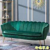 沙發小戶型北歐簡約現代輕奢單人沙發臥室客廳服裝店網紅雙人沙發新年禮物