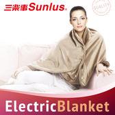 Sunlus三樂事典雅披肩電熱毯~貴婦級的溫暖享受!