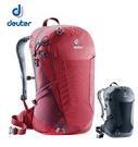 丹大戶外用品【Deuter】Futura 24 網架透氣背包〈容量24L〉 莓紅/酒紅、黑 3400118
