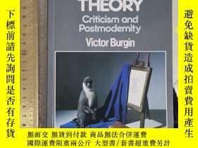 二手書博民逛書店The罕見end of art theory criticism and postmodernity histor