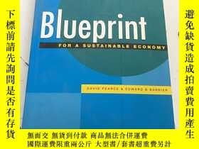 二手書博民逛書店Blueprint罕見For A Stustainable Ec