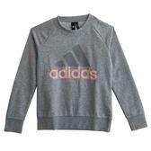 Adidas 愛迪達 ESS LIN SWEAT  長袖上衣 CZ5722 女 健身 透氣 運動 休閒 新款 流行