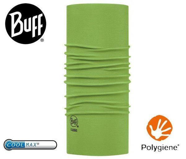 丹大戶外【BUFF】西班牙魔術頭巾 coolmax春夏款抗UV  BF111426-852-10-00 素面青草綠