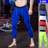 健身運動褲(七分褲)-貼合修身高彈力重訓男緊身褲6色73od7【時尚巴黎】