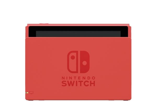 Switch瑪利歐亮麗紅藍限定主機+熱門軟體多選1+18合一套裝+手把矽膠套組
