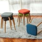 鐵製木紋方形椅凳【JL精品工坊】餐椅 椅子 椅凳 辦公椅 休閒椅