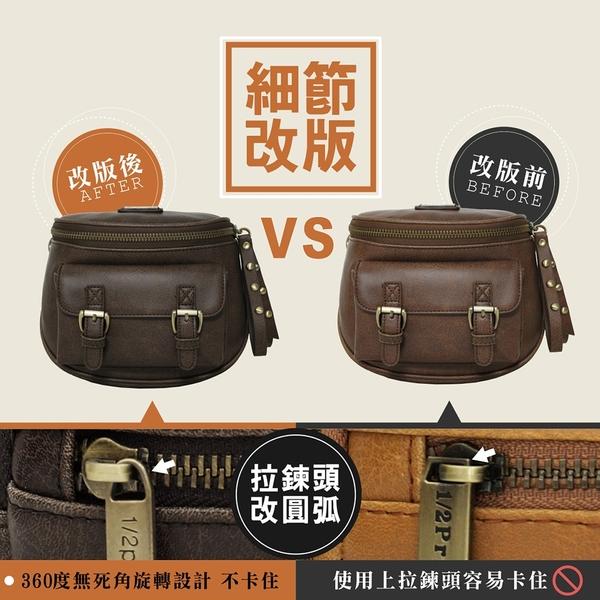 1/2Princess 全新三代復古皮革大開口蜂蜜罐造型斜背包側背包 肩背包[A2790-1]