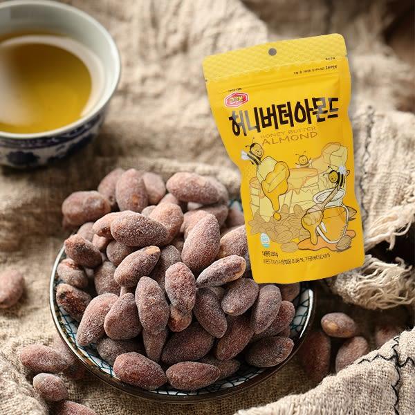韓國 MURGERBON 蜂蜜奶油杏仁果 200g【庫奇小舖】大包裝