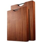 烏檀木整木菜板砧板實木家用占板刀板切菜板案板搟面板   LannaS