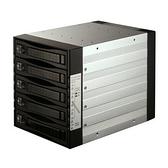 """[富廉網] SNT 5-bay 2.5""""/3.5"""" SAS/SATA 硬碟抽取模組 ST-3051SS"""