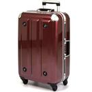 MOM行李箱 18吋『紅色』MF300818 德國拜耳PC 超輕量鋁框行李 出國旅遊 拉桿箱 耐撞 輕量 靜音輪
