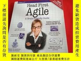 二手書博民逛書店Head罕見First Agile: A Brain-Frien