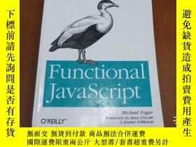 二手書博民逛書店Functional罕見JavaScript:Introduci