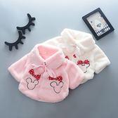 厚外套女寶寶0-1歲半2到3周秋冬保暖嬰兒4個月12棉衣服5小孩女童6外套8潮【優兒寶貝】