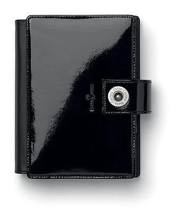 Faber-castell 經典黑漆皮萬用手冊-M型 *188801