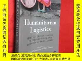 二手書博民逛書店Humanitarian罕見Logistics: Meeting