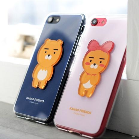 韓國 KAKAO FRIENDS 立體壓克力 手機殼