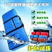 電子琴包61鍵通用可提可背加厚海綿防水琴袋便攜式  JL2150『miss洛雨』TW