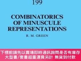 二手書博民逛書店Combinatorics罕見Of Minuscule RepresentationsY255174 R. M