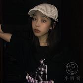 土酷蹦迪帽鴨舌帽復古藝術家畫家貝雷帽【小酒窩服飾】