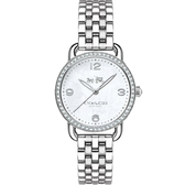 COACH 時尚耀眼LOGO面盤女腕錶/38mm/14502477