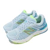 New Balance 慢跑鞋 680 V6 寬楦頭 女鞋 水藍 緩震 運動鞋 NB【ACS】 W680RG6-D