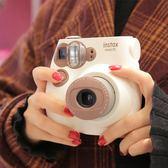 拍立得 instax mini7S熊貓/7C咖啡色拍立得相機 套餐含相紙 免運 艾維朵