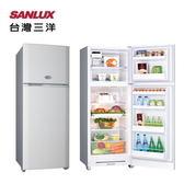 【SANLUX 台灣三洋】310L雙門冰箱強化玻璃架《SR-C310B1》K星鑽銀*適合小家庭*省電1級