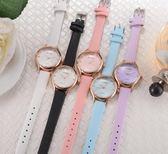韓版森系手錶女中學生復古學院風簡約潮流小清新錶盤閨蜜姐妹一對