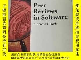 二手書博民逛書店Peer罕見Reviews in SoftwareY146690