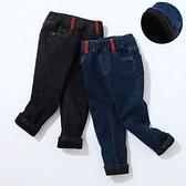保暖加絨牛仔褲 雙層休閒褲 卡其褲 長褲 寶寶童裝 QY177 好娃娃