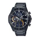 CASIO EDIFICE 奪目設計逆行計時碼錶(EFR-571DC-2A)-黑x51mm