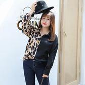 中大尺碼~氣質復古風長袖襯衫上衣(XL~4XL)