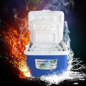 車載保溫箱 保溫箱車載便攜式保冷保鮮箱子商用外賣送餐藥品食品冷藏箱大小號·夏茉生活YTL