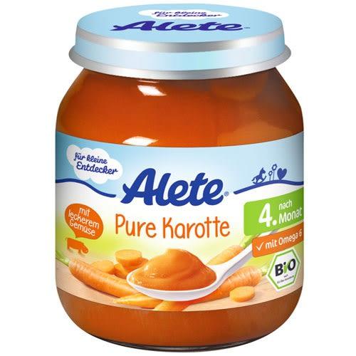 Alete胡蘿蔔泥125g 4個月大以上幼兒適用【德芳保健藥妝】