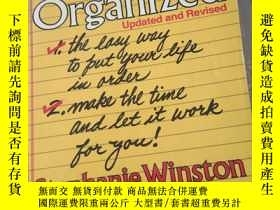 二手書博民逛書店Getting罕見Organized stephanie win