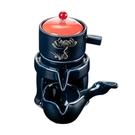 陶瓷懶人功夫茶具套裝家用單個旋轉石磨自動泡茶壺玻璃沖茶器茶杯 錢夫人小鋪