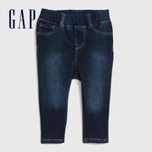 Gap男女嬰兒 摩登時尚水洗牛仔長褲 368023-深水洗靛藍