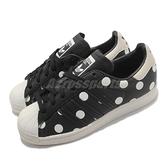 adidas 休閒鞋 Superstar W 黑 白 女鞋 點點 圓點 運動鞋 【ACS】 FZ0154