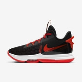 Nike Lebron Witness V Ep [CQ9381-005] 男鞋 運動 籃球 支撐 穩定 抓地力 黑 紅