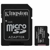 全新 KingSton 金士頓 SDCS2/256GB 256G microSDXC TF UHS-I A1 V10 記憶卡