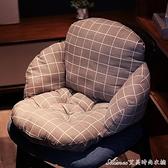 坐墊辦公室久坐靠墊一體椅墊屁股墊加厚凳子可愛少女學生座墊 快速出貨YJT