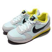 【六折特賣】Nike 復古慢跑鞋 Wmns MD Runner 2 低筒 藍 黃 休閒鞋 女鞋【PUMP306】749869-403