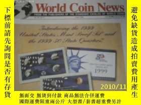 二手書博民逛書店World罕見Coin News(Vol.26,No.6)(Ju